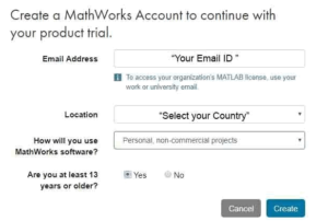 matlab free download for windows 10-create mathworks account