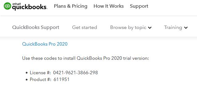 quickbooks install codes