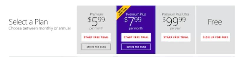 Fumination Premium Plans