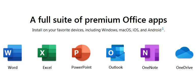 Features of Office for Mac