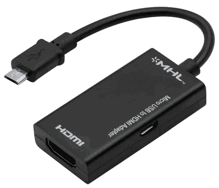 HML-HDMI Adapter pics - connect phone to TV wirelessly