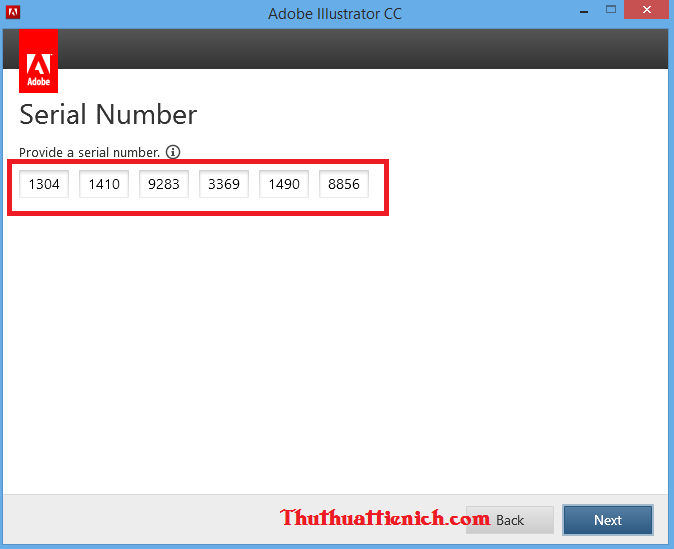 Adobe Illustrator Serial number (Feature)