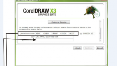 CorelDraw X3 Serial Number (digits)