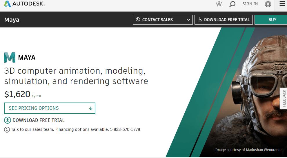 Autodesk maya free download for Mac, Windows 10,8,7