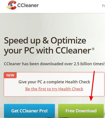 ccleaner for windows 7, 10 & Mac full version