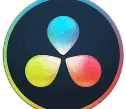 DaVinci Resolve Video-Editing Software logo