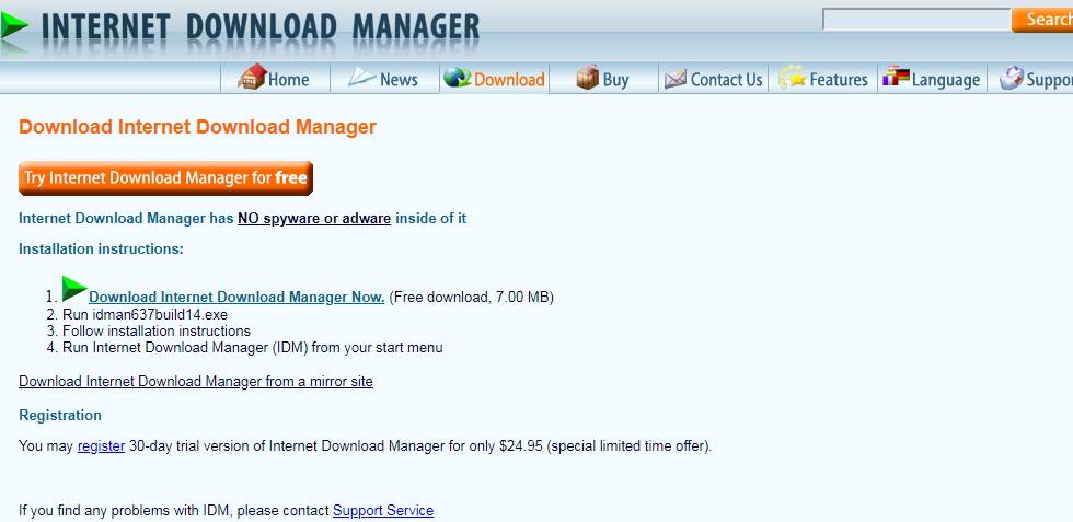How to get idm free download with serial key full version