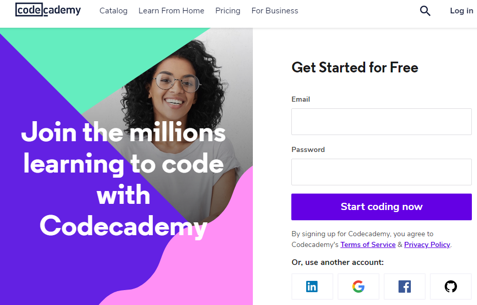 codecademy free trial