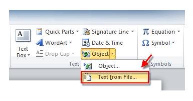 Merge Documents Proceedure