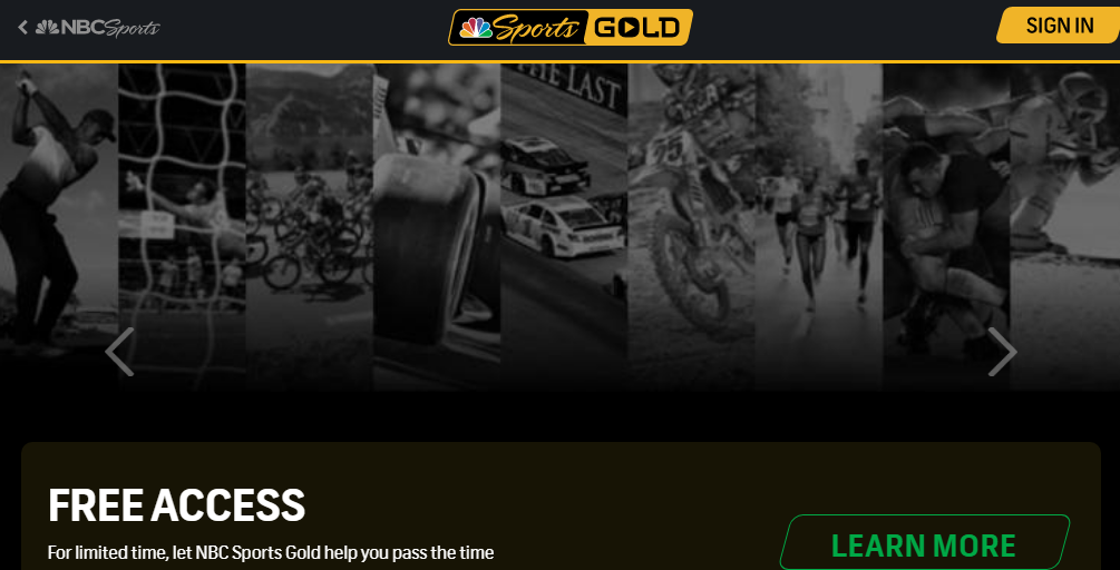 How to start nbc sports gold free trial