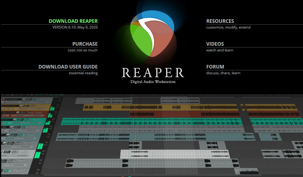 Download Reaper