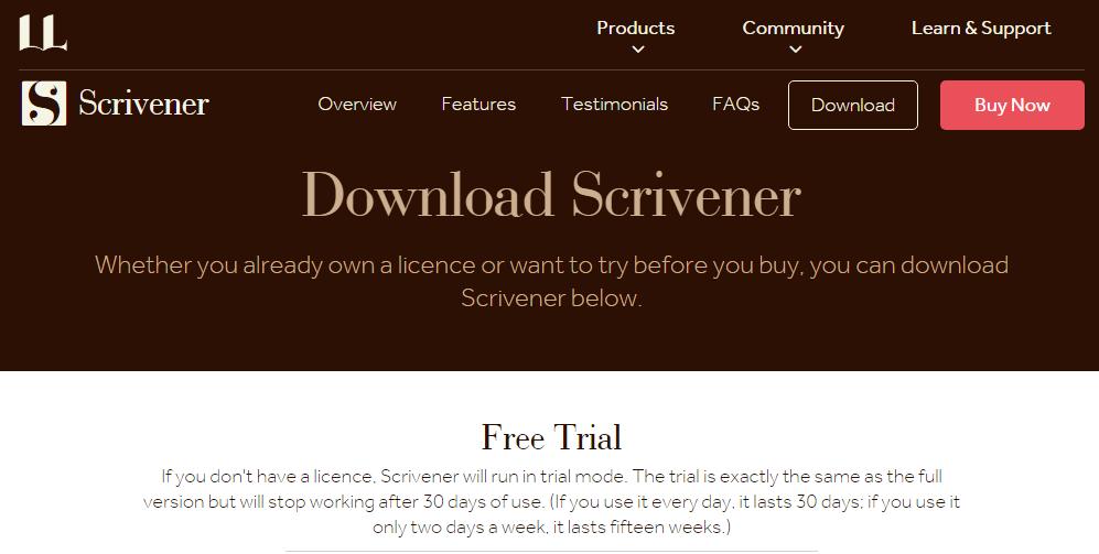 Scrivener License key