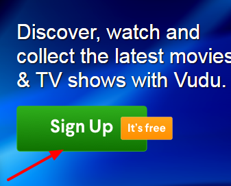 How to start vudu free trial