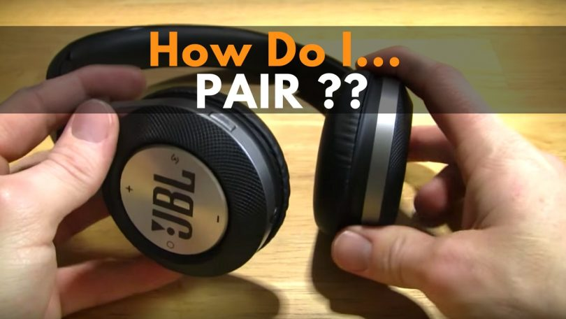 pair jbl headphones