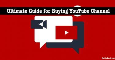 YouTube channel buy